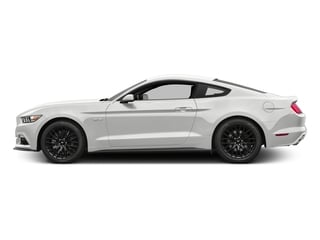 Oxford White 2017 Ford Mustang Pictures Mustang Coupe 2D GT V8 photos side view