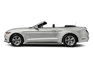 Oxford White 2017 Ford Mustang Pictures Mustang Convertible 2D V6 photos side view