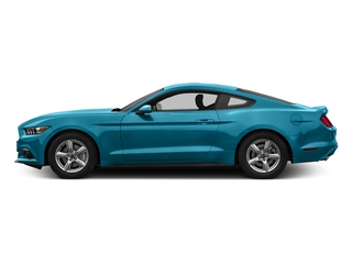 Lightning Blue Metallic 2017 Ford Mustang Pictures Mustang Coupe 2D EcoBoost I4 Turbo photos side view