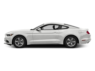 Oxford White 2017 Ford Mustang Pictures Mustang Coupe 2D EcoBoost I4 Turbo photos side view