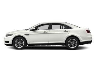 White Platinum Metallic Tri-Coat 2017 Ford Taurus Pictures Taurus Sedan 4D Limited AWD V6 photos side view