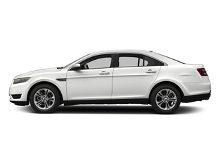 Oxford White 2017 Ford Taurus Pictures Taurus Sedan 4D SEL EcoBoost I4 Turbo photos side view