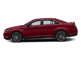 Ruby Red Metallic Tinted Clearcoat 2017 Ford Taurus Pictures Taurus Sedan 4D SHO AWD V6 Turbo photos side view