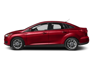 Race Red 2017 Ford Focus Pictures Focus Sedan 4D SE I4 photos side view