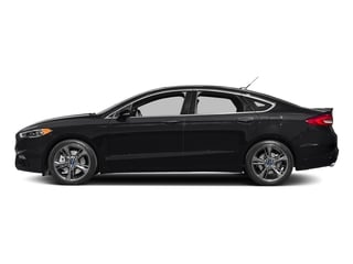 Shadow Black 2017 Ford Fusion Pictures Fusion Sedan 4D Sport EcoBoost V4 Turbo photos side view