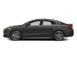 Magnetic 2017 Ford Fusion Pictures Fusion Sedan 4D Sport EcoBoost V4 Turbo photos side view