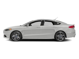 Oxford White 2017 Ford Fusion Pictures Fusion Sedan 4D Sport EcoBoost V4 Turbo photos side view