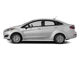Oxford White 2017 Ford Fiesta Pictures Fiesta Sedan 4D S I4 photos side view