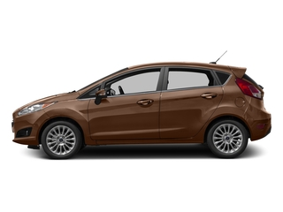 Chrome Copper Metallic 2017 Ford Fiesta Pictures Fiesta Hatchback 5D Titanium I4 photos side view