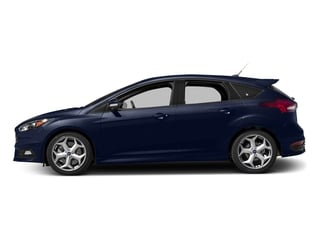 Kona Blue Metallic 2017 Ford Focus Pictures Focus Hatchback 5D ST I4 Turbo photos side view