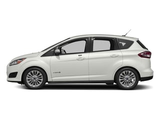 White Platinum Metallic Tri-Coat 2017 Ford C-Max Hybrid Pictures C-Max Hybrid Hatchback 5D SE I4 Hybrid photos side view