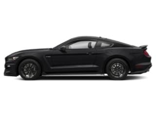 Shadow Black 2017 Ford Mustang Pictures Mustang Coupe 2D Shelby GT350 R V8 photos side view