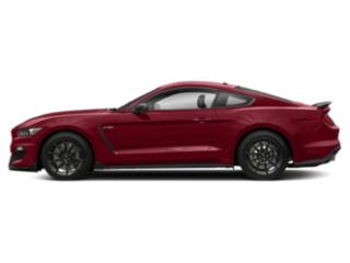 Ruby Red Metallic Tinted Clearcoat 2017 Ford Mustang Pictures Mustang Coupe 2D Shelby GT350 R V8 photos side view