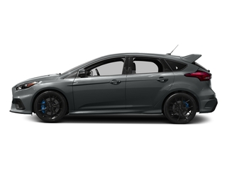 Stealth Gray 2017 Ford Focus Pictures Focus Hatchback 5D RS AWD I4 Turbo photos side view