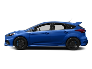 Nitrous Blue Quad-Coat 2017 Ford Focus Pictures Focus Hatchback 5D RS AWD I4 Turbo photos side view
