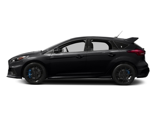 Shadow Black 2017 Ford Focus Pictures Focus Hatchback 5D RS AWD I4 Turbo photos side view