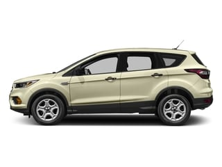 White Gold Metallic 2017 Ford Escape Pictures Escape Utility 4D S 2WD I4 photos side view