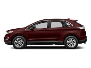 Burgundy Velvet Metallic Tinted Clearcoat 2017 Ford Edge Pictures Edge Utility 4D SEL 2WD V6 photos side view