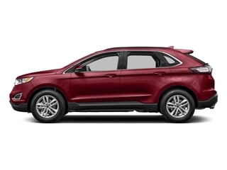 Ruby Red Metallic Tinted Clearcoat 2017 Ford Edge Pictures Edge Utility 4D SEL 2WD V6 photos side view
