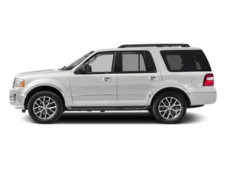 Oxford White 2017 Ford Expedition Pictures Expedition Utility 4D XLT 4WD V6 Turbo photos side view