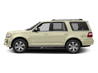 White Gold 2017 Ford Expedition Pictures Expedition Utility 4D Platinum 2WD V6 Turbo photos side view