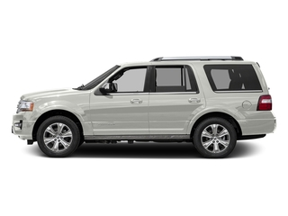 White Platinum Metallic Tri-Coat 2017 Ford Expedition Pictures Expedition Utility 4D Platinum 2WD V6 Turbo photos side view