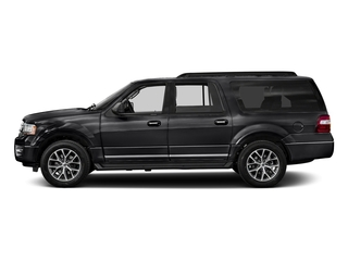 Shadow Black 2017 Ford Expedition EL Pictures Expedition EL Utility 4D XLT 4WD V6 Turbo photos side view