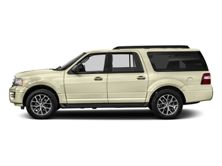 White Gold 2017 Ford Expedition EL Pictures Expedition EL Utility 4D XLT 4WD V6 Turbo photos side view