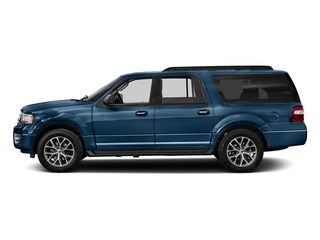 Blue Jeans 2017 Ford Expedition EL Pictures Expedition EL Utility 4D XLT 4WD V6 Turbo photos side view