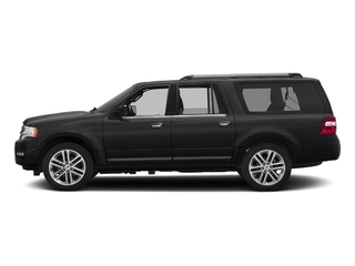 Shadow Black 2017 Ford Expedition EL Pictures Expedition EL Utility 4D Limited 4WD V6 Turbo photos side view