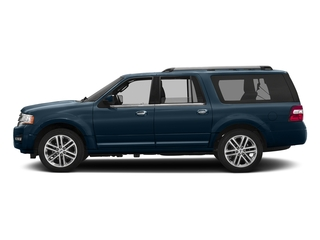 Blue Jeans 2017 Ford Expedition EL Pictures Expedition EL Utility 4D Limited 2WD V6 Turbo photos side view