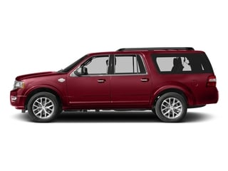 Ruby Red Metallic Tinted Clearcoat 2017 Ford Expedition EL Pictures Expedition EL Utility 4D King Ranch 4WD V6 Turbo photos side view
