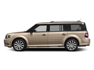 White Gold Metallic 2017 Ford Flex Pictures Flex Wagon 4D Limited AWD photos side view