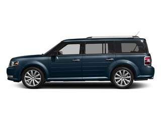 Blue Jeans Metallic 2017 Ford Flex Pictures Flex Wagon 4D Limited AWD photos side view