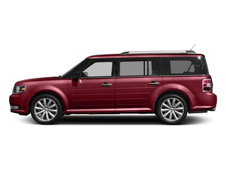 Ruby Red Metallic Tinted Clearcoat 2017 Ford Flex Pictures Flex Wagon 4D Limited AWD photos side view