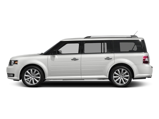 Oxford White 2017 Ford Flex Pictures Flex Wagon 4D Limited AWD photos side view