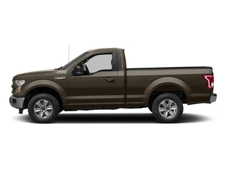 Caribou Metallic 2017 Ford F-150 Pictures F-150 Regular Cab XLT 4WD photos side view