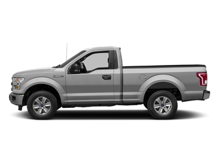 Ingot Silver Metallic 2017 Ford F-150 Pictures F-150 Regular Cab XLT 4WD photos side view