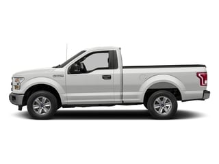 Oxford White 2017 Ford F-150 Pictures F-150 Regular Cab XLT 4WD photos side view