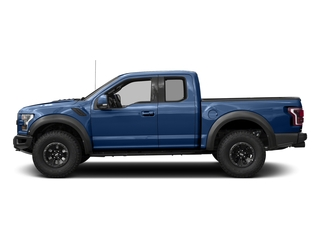 Lightning Blue 2017 Ford F-150 Pictures F-150 SuperCab Raptor 4WD photos side view