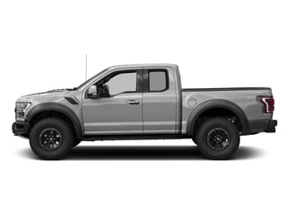 Ingot Silver Metallic 2017 Ford F-150 Pictures F-150 SuperCab Raptor 4WD photos side view