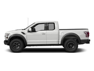 Oxford White 2017 Ford F-150 Pictures F-150 SuperCab Raptor 4WD photos side view