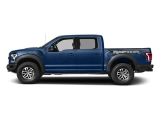 Lightning Blue 2017 Ford F-150 Pictures F-150 Crew Cab Raptor 4WD photos side view