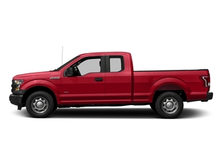 Race Red 2017 Ford F-150 Pictures F-150 Supercab XL 4WD photos side view