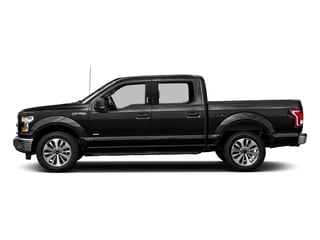 Shadow Black 2017 Ford F-150 Pictures F-150 Crew Cab XLT 2WD photos side view