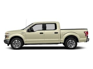 White Gold 2017 Ford F-150 Pictures F-150 Crew Cab XLT 2WD photos side view