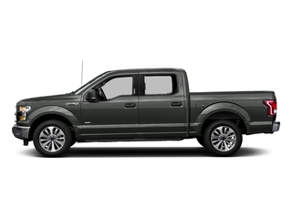 Magnetic Metallic 2017 Ford F-150 Pictures F-150 Crew Cab XLT 2WD photos side view