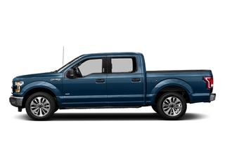 Blue Jeans Metallic 2017 Ford F-150 Pictures F-150 Crew Cab XLT 2WD photos side view
