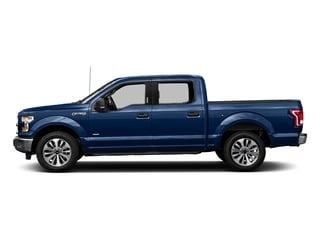 Lightning Blue 2017 Ford F-150 Pictures F-150 Crew Cab XLT 2WD photos side view