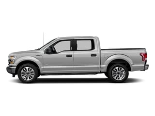 Ingot Silver Metallic 2017 Ford F-150 Pictures F-150 Crew Cab XLT 2WD photos side view